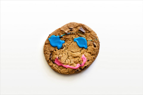 cookie happy smile